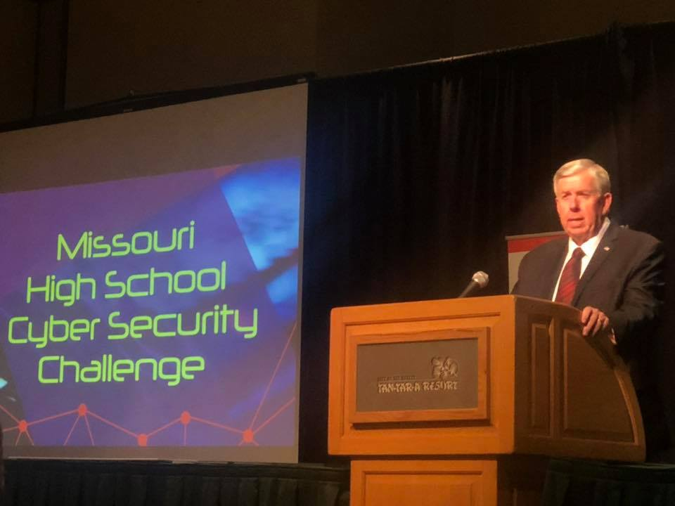 Gov. Mike Parson at 2019 MOREnet Annual Conference